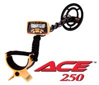 Garrett ACE 250 metaaldetector