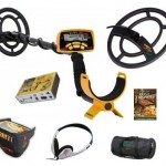 Garrett ACE 250 sports pack metaaldetector winkel
