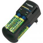 lader en batterijen voor detector