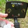 goldenmask1 metaaldetector bediening