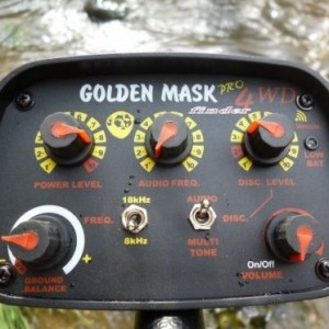 goldenmask 4 wd pro bediening