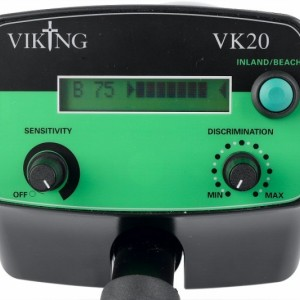 viking vk20 bediening Metaaldetector