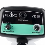 viking VK10 Metaaldetector bediening