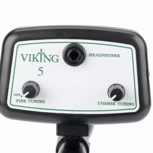 viking5 metaaldetector bediening