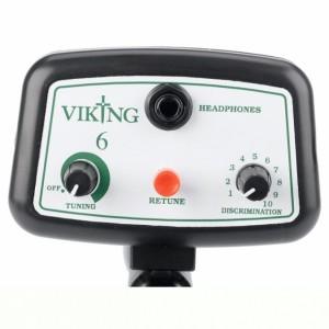 viking 6 metaaldetector bediening