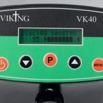 Viking vk40 metaaldetector bediening