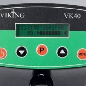 Viking vk40 metaaldetector bediening