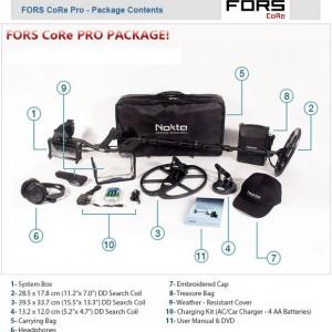 Nokta Fors CoRe Pro metaaldetector